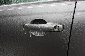 Winter Tip - Opening a Frozen Door