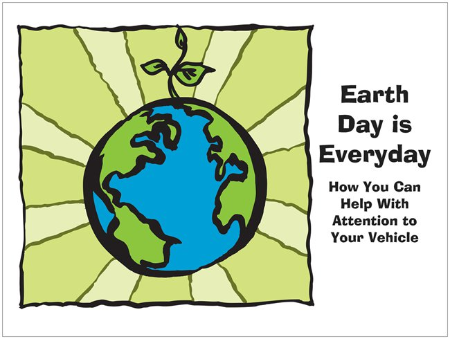 Earth Day: Beyond the Blue Bag